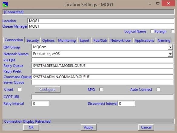 MO71 Location Dialog