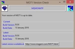 MO71 Version Check